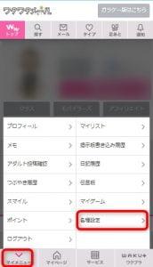 ワクワクメール プロフ検索設定 (1)